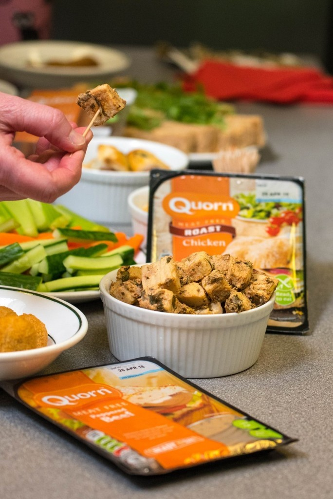 Quorn Chicken pieces - Kids Cookery School - motherhooddiaries.com