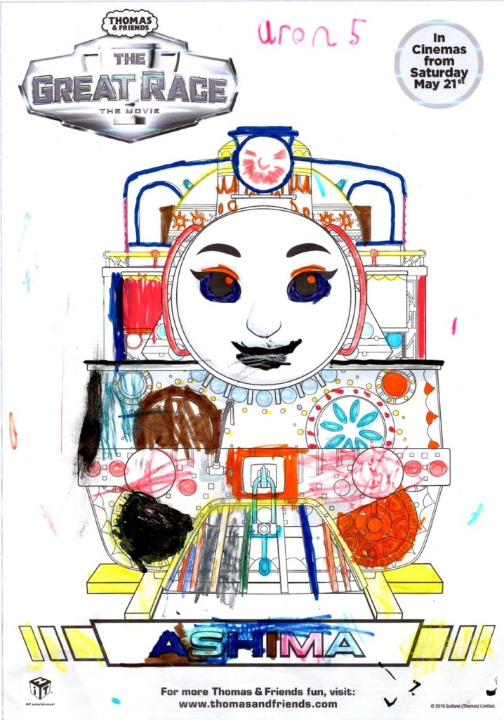 The New Thomas Amp Friends The Great Race Movie A Film