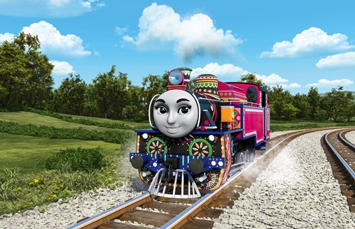 Ashima Of India Thomas And Friends The Great Race
