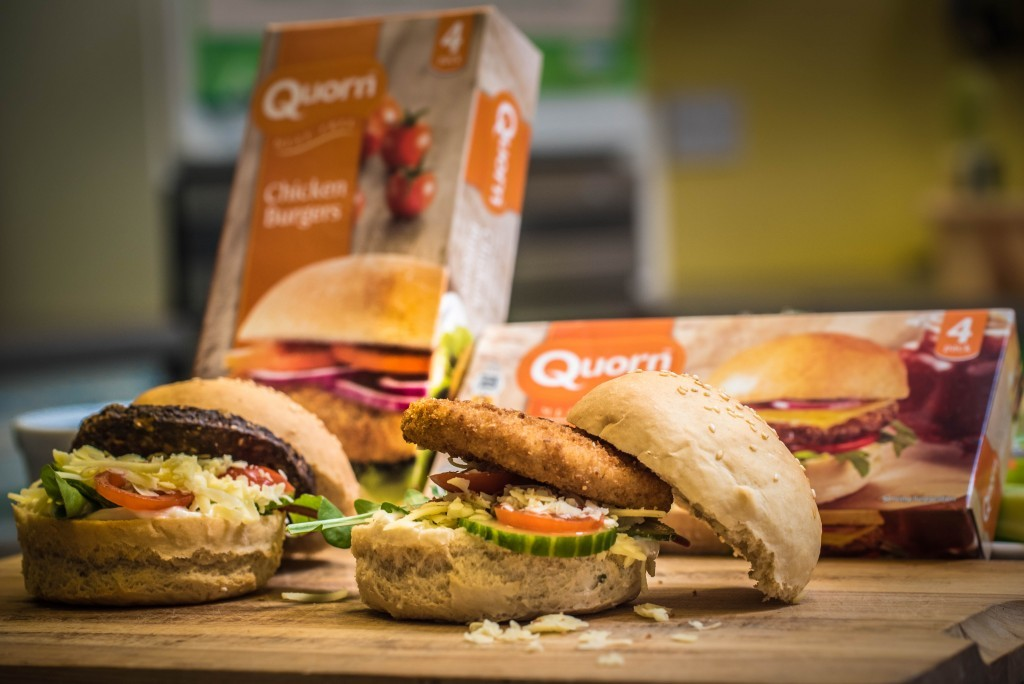 Quorn burgers- Quorn Kids Cookery School - motherhooddiaries.com