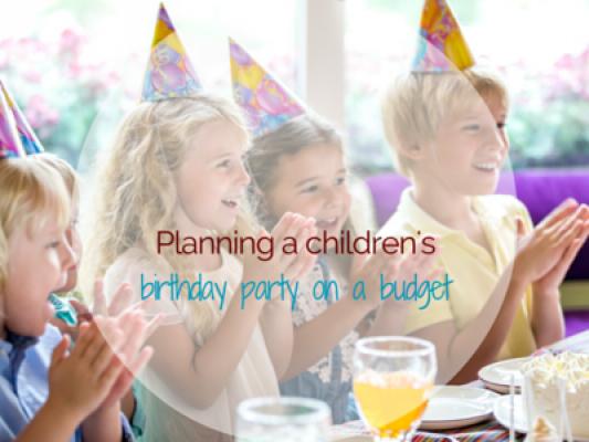 Planning a child's birthday part on a budget - motherhooddiaries.com