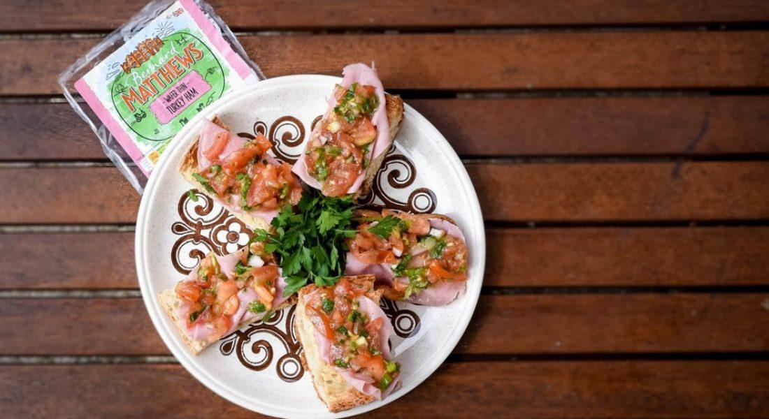 Bernard Matthews Turkey Bruschetta Recipe - fiveforafiver - motherhooddiaries