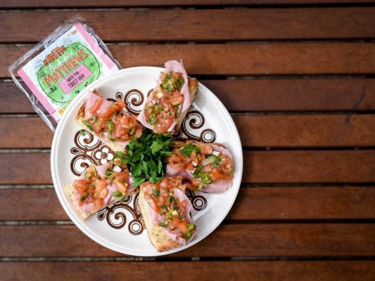 Bernard Matthews Turkey Bruschetta Recipe - fiveforafiver - motherhooddiaries