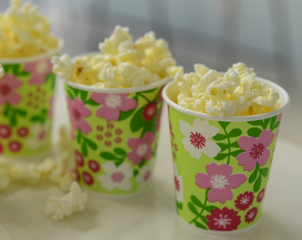 Popcorn - home cinema - motherhooddiaries