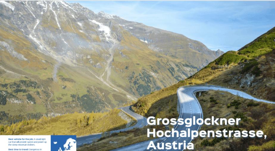 Glossglockner Hochalpenstrasse, Austria