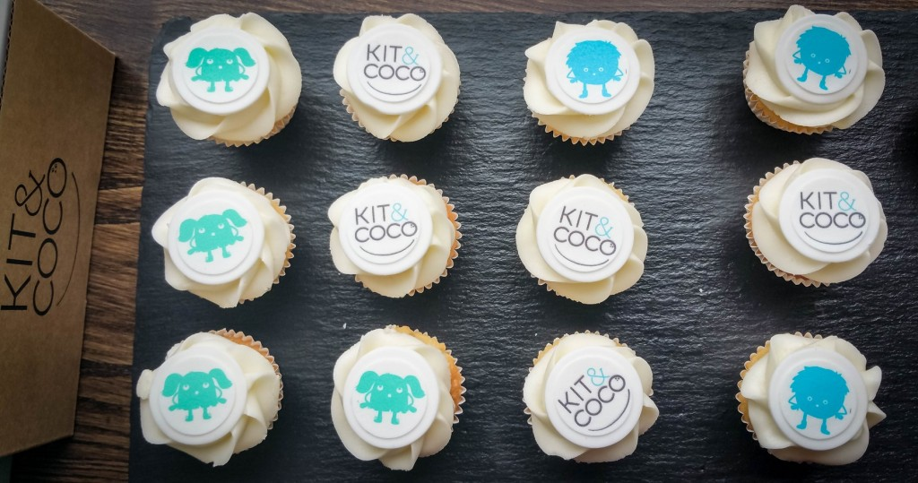 Kit & Coco event cupcakes - motherhooddiaries