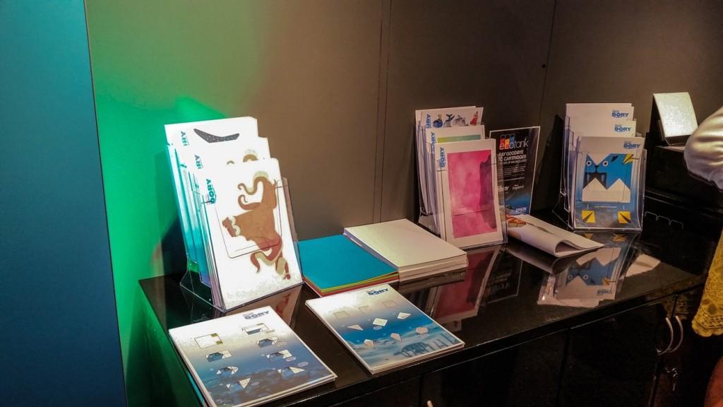 #PrintingDory activity sheets and origami at Disney store #PrintingDory Epson event - motherhooddiaries