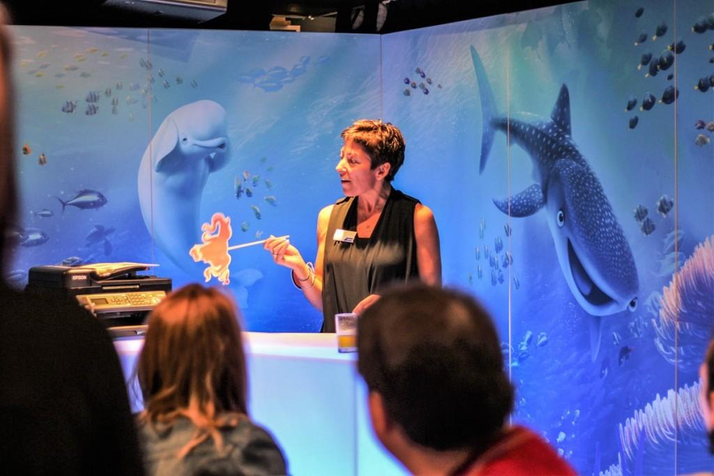 Talk at Disney store #PrintingDory Epson event - motherhooddiaries