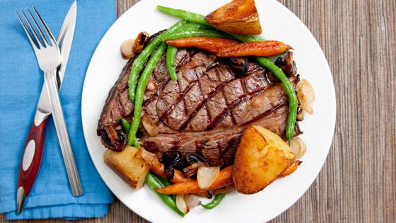 Meat and vegetables - motherhooddiaries