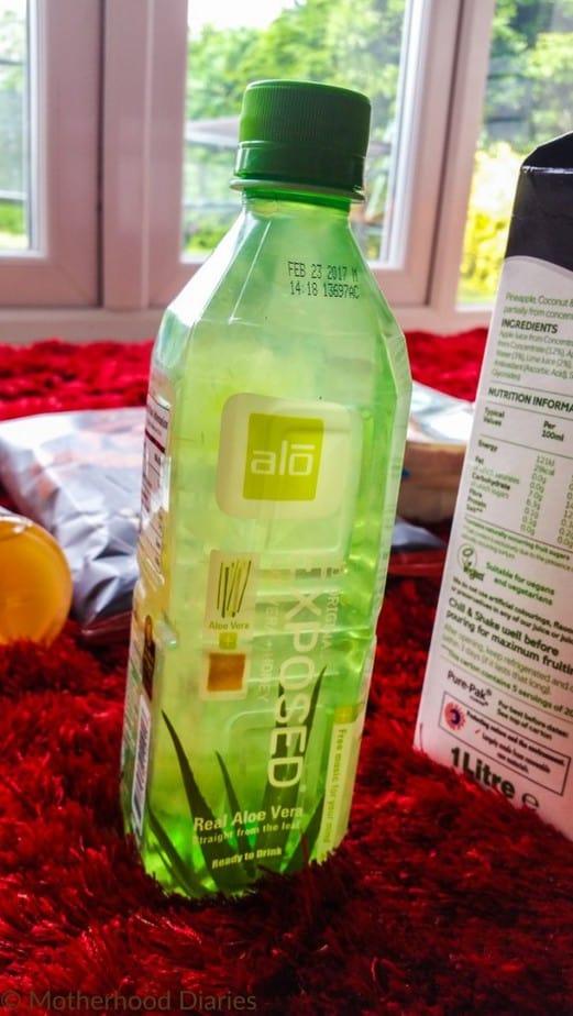 ALO Aloe Vera Drink - July 2016 Degustabox - motherhooddiaries