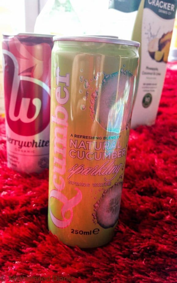 Qcumber Natural Refreshing Cucumber Drink - July 2016 - motherhooddiaries