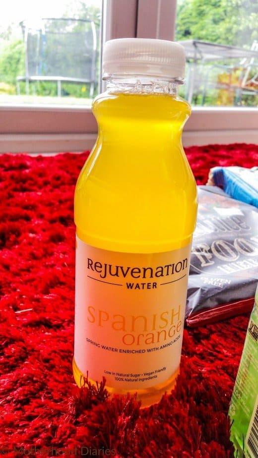 Rejuvenation Water Spanish Orange - July 2016 Degustabox - motherhooddiaries
