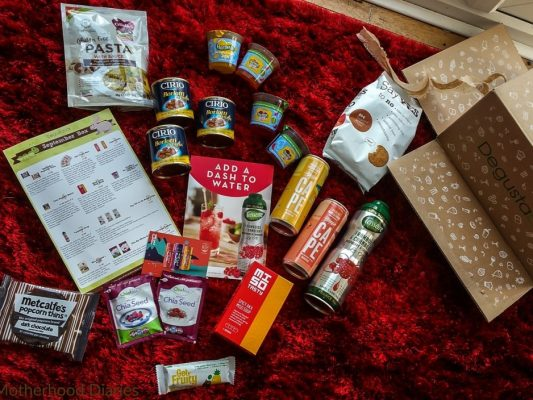 September Degustabox 2016 - motherhooddiaries