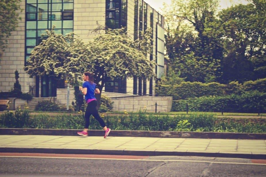 Run to exercise