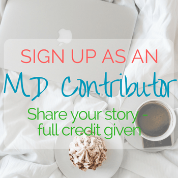 Sign up as an MD contributor and share your story. Full credit given