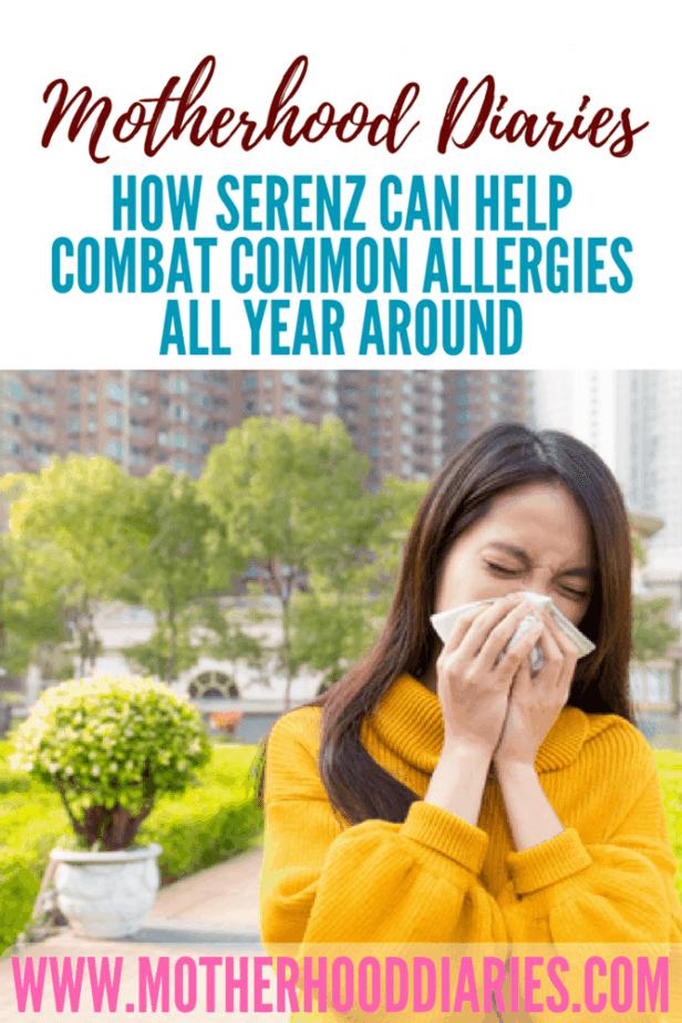 How Serenz can help combat common allergies all year around #hayfever #serenz #allergies #allergens #springweather - motherhooddiaries.com
