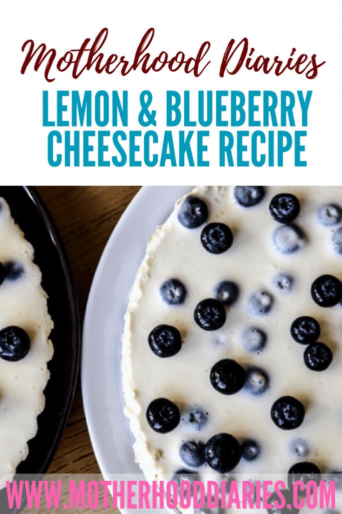 Lemon and Cheesecake recipe - motherhooddiaries.com