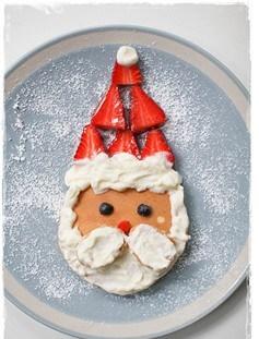 Santa Pancake - motherhooddiaries