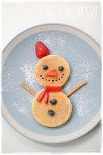 Gingerbread man pancake - motherhooddiaries