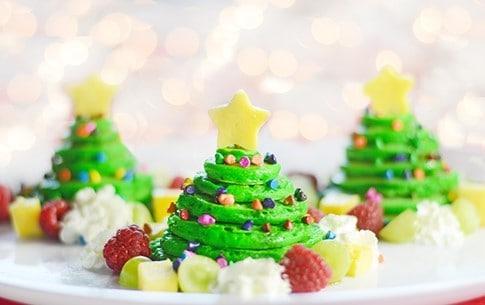 Christmas tree pancakes - motherhooddiaries