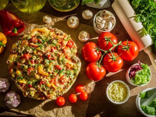 cauliflower pizza recipe - motherhooddiaries