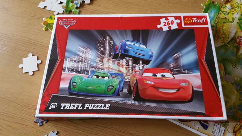 Trefl CARS jigsaw puzzle - motherhooddiaries