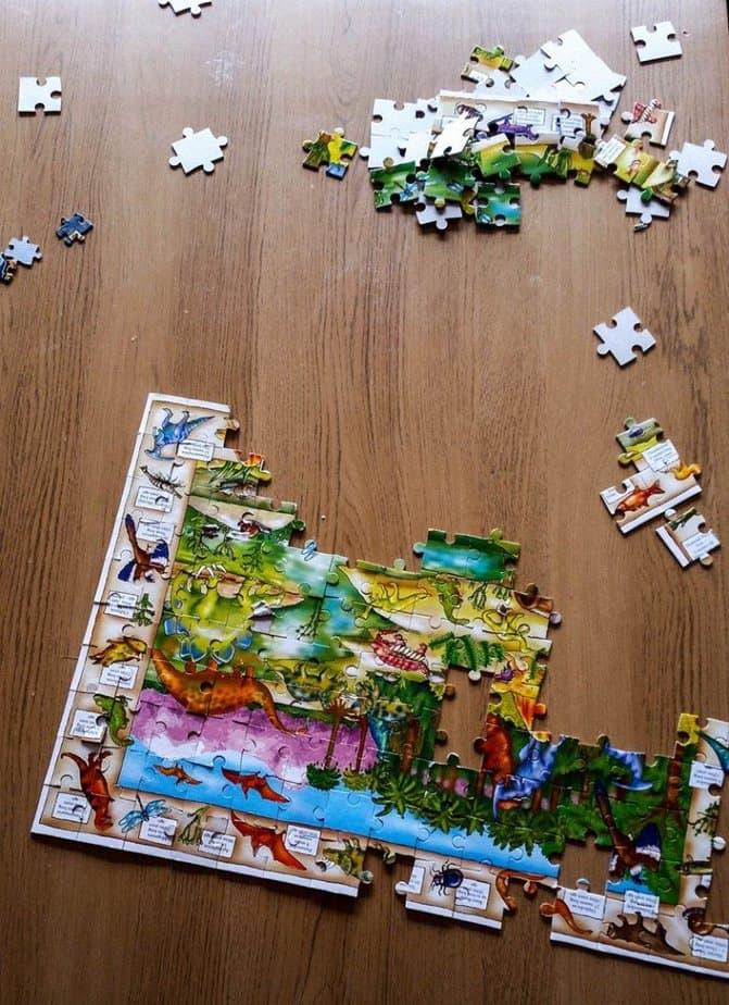 Dinosaur discovery puzzle - motherhooddiaries