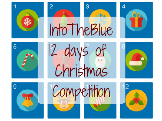 IntoTheBlue 12 days of Christmas Calendar - motherhooddiaries