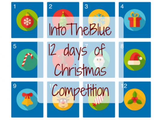 IntoTheBlue 12 days of Christmas Calendar - motherhooddiaries