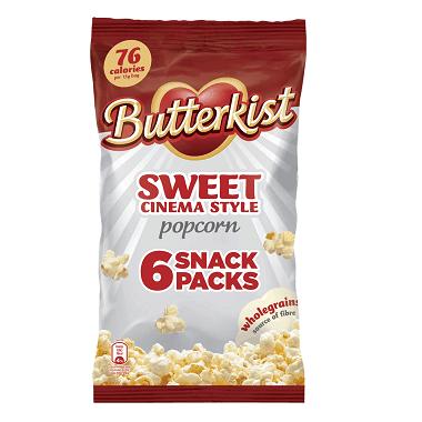 Butterkist SweetCinema Style Popcorn- motherhooddiaries