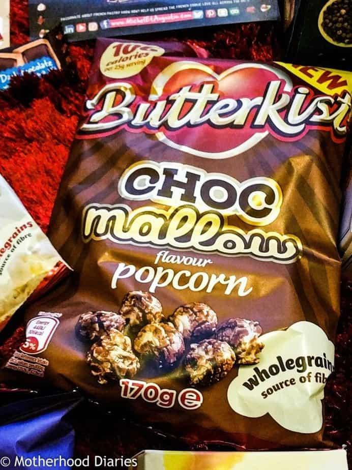 Butterkist Choc Mallow Popcorn - November Christmas 2016 - Degustabox