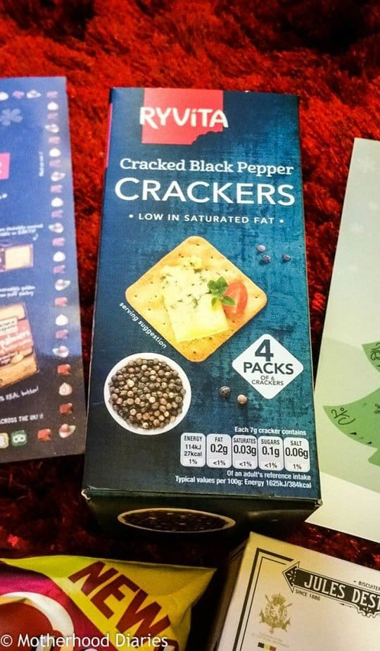 Ryvita Crackers - ChristmasNovember Degustabox 2016 - motherhooddiaries