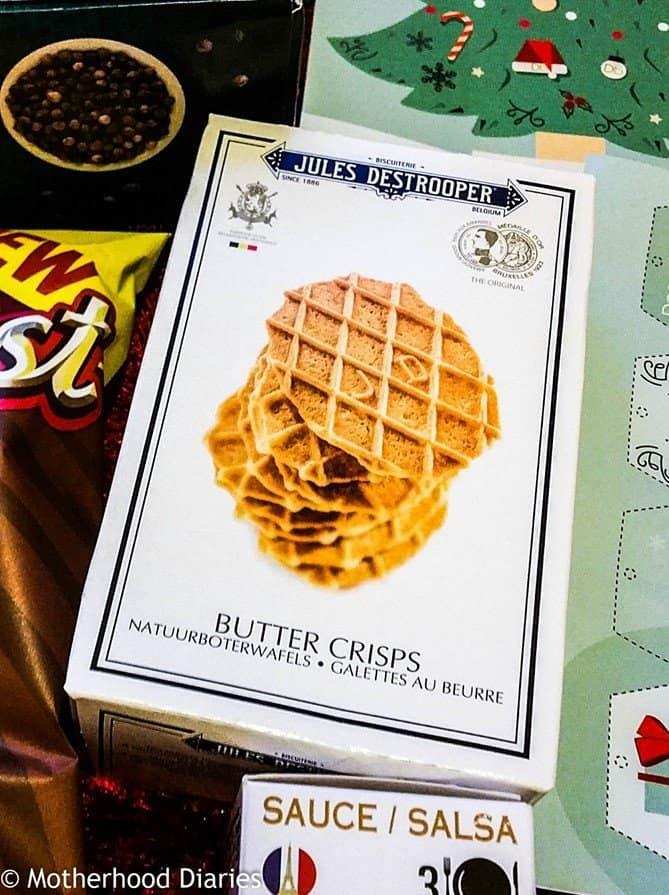 Jules Destrooper Butter Crisps - November Degustabox 2016