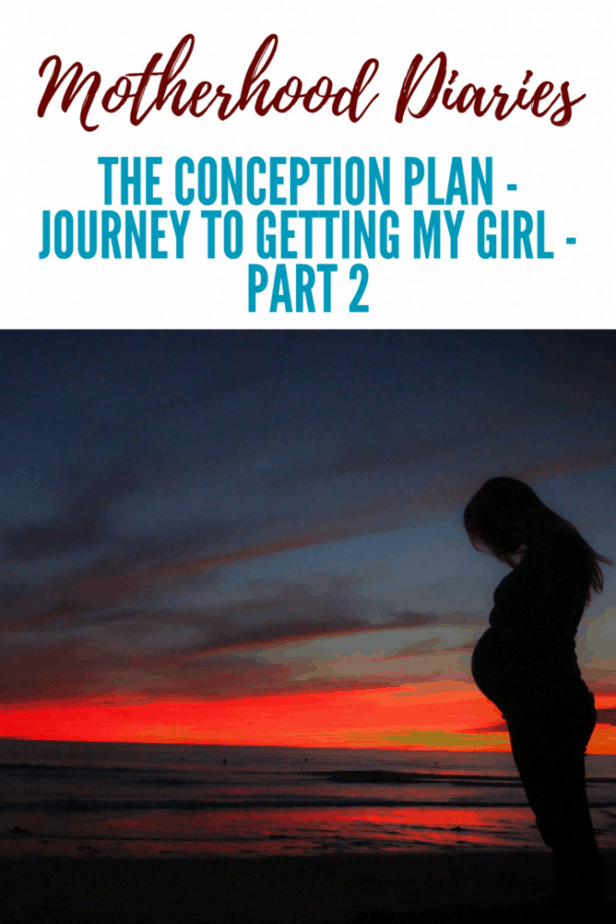 The conception plan - journey to getting my girl - part 2