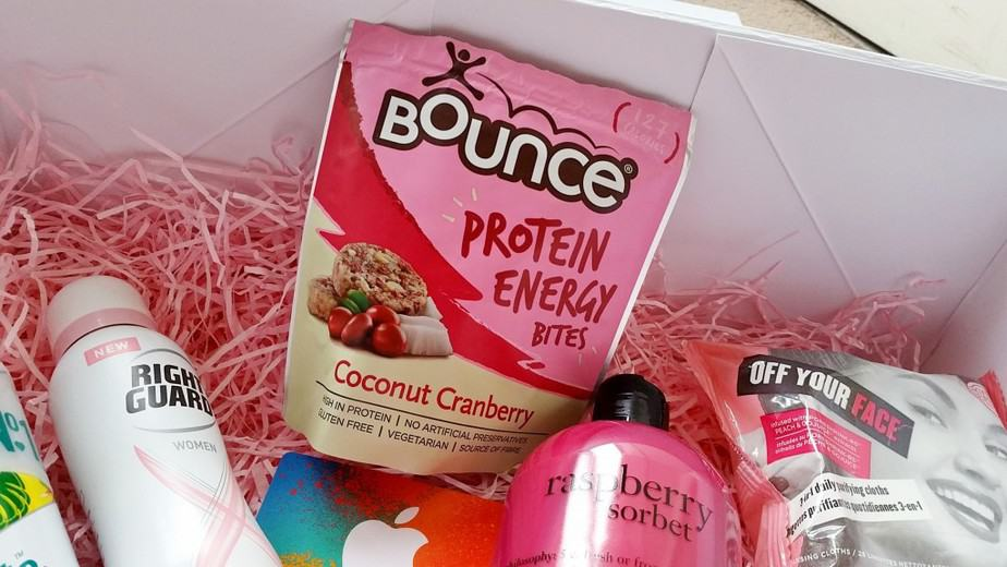Lights by TENA workout kit - BOUNCE protein energy bites coconut cranberry - motherhooddiaries.com