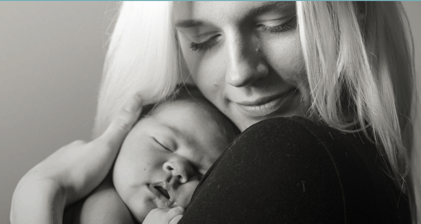 Mother and baby - baby mantra - motherhooddiaries