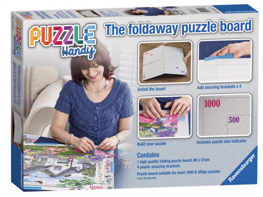 Puzzle Handy Foldaway Puzzle Board - motherhooddiaries