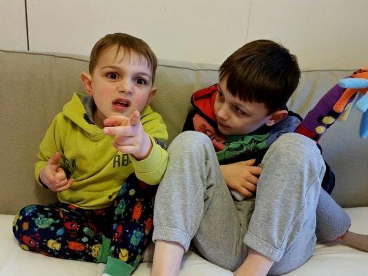 Boys and BatCat - Petplan UK - motherhooddiaries