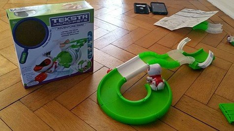 Teksta Micro-Pet half completed track - motherhooddiaries
