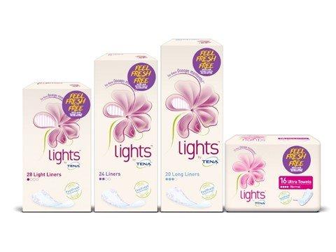 lights by TENA promotional packs - Feel fresh or it's free! motherhooddiaries