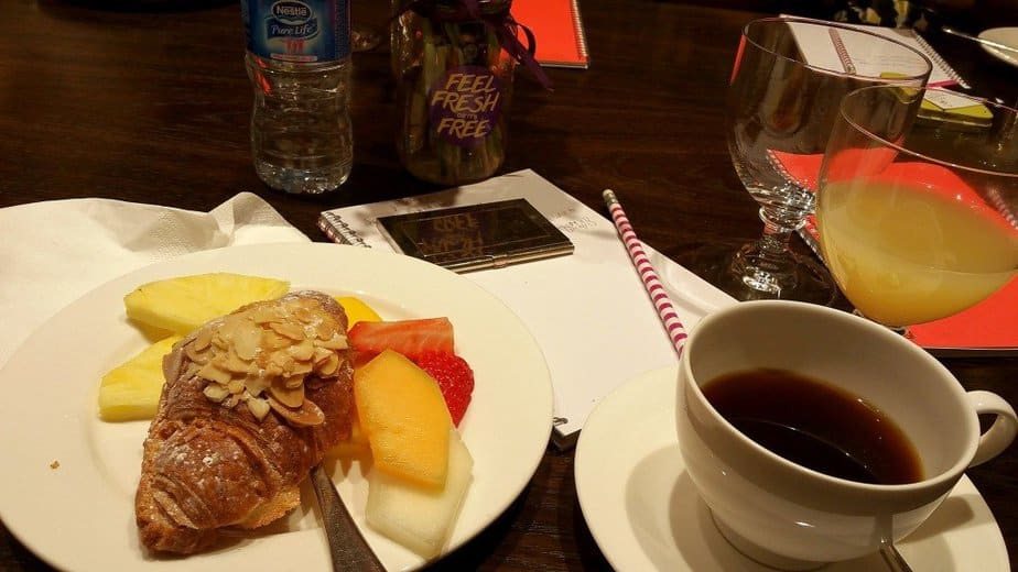 Breakfast with coffee - motherhooddiaries
