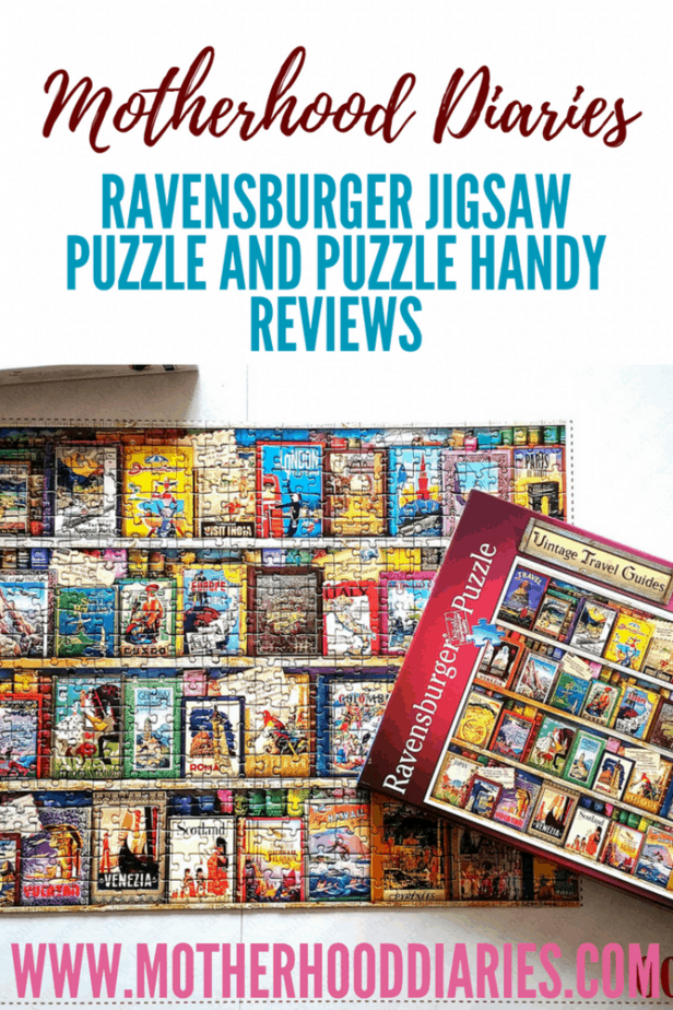 Ravensburger Jigsaw Puzzle and Puzzle Handy Reviews - motherhooddiaries.com