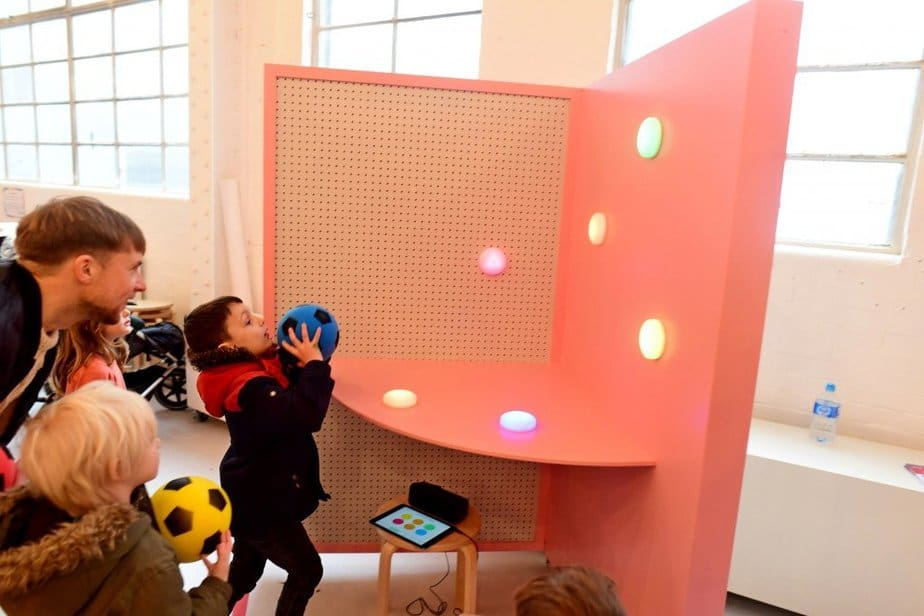 Learning to demystify code with children with the Institute of Imagination's first ever 'Lab Live - Recode' exhibition - SEN activity - motherhooddiaries