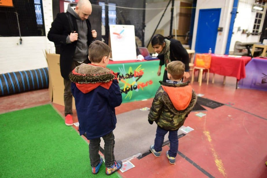 Learning to demystify code with children with the Institute of Imagination's first ever 'Lab Live - Recode' exhibition - Maths explorers numbered square - motherhooddiaries