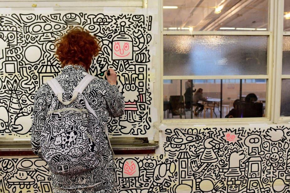 Learning to demystify code with children with the Institute of Imagination's first ever 'Lab Live - Recode' exhibition - The Doodle Man - Hackadoodle -motherhooddiaries