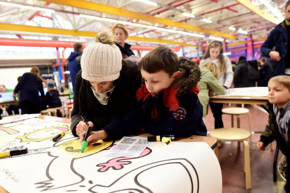Learning to demystify code with children with the Institute of Imagination's first ever 'Lab Live - Recode' exhibition - Hackadoodle - motherhooddiaries