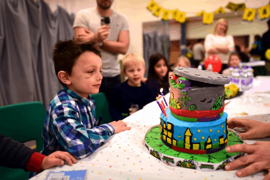 Teenage mutant ninja turtle birthday cake - motherhooddiaries