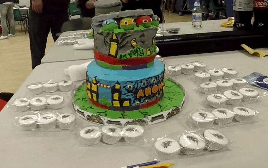 TMNT Cupcake toppers - motherhooddiaries
