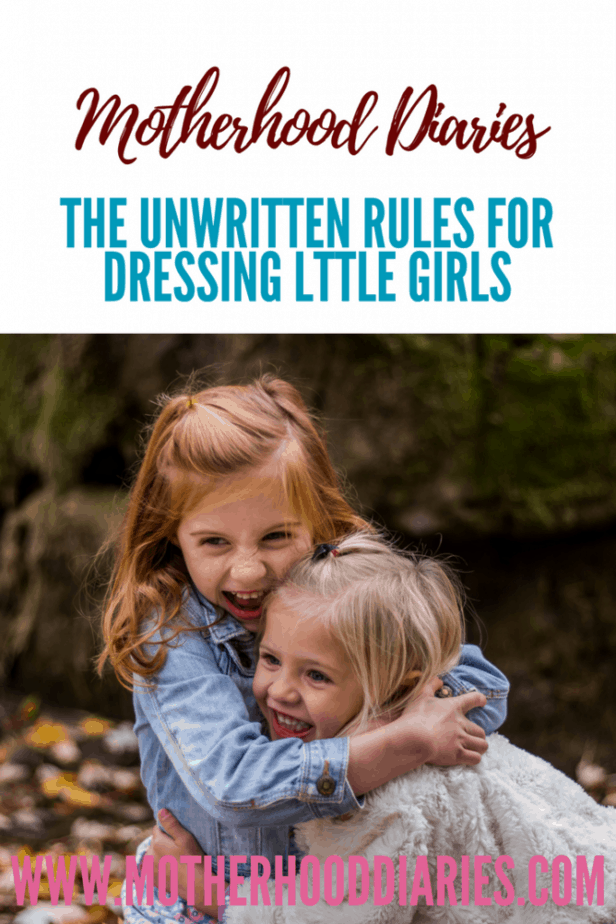 The Unwritten Rules for Dressing Little Girls