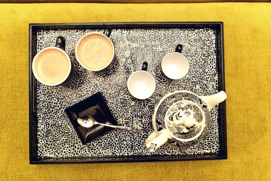Coffee/Tea tray - Arch london - motherhooddiaries